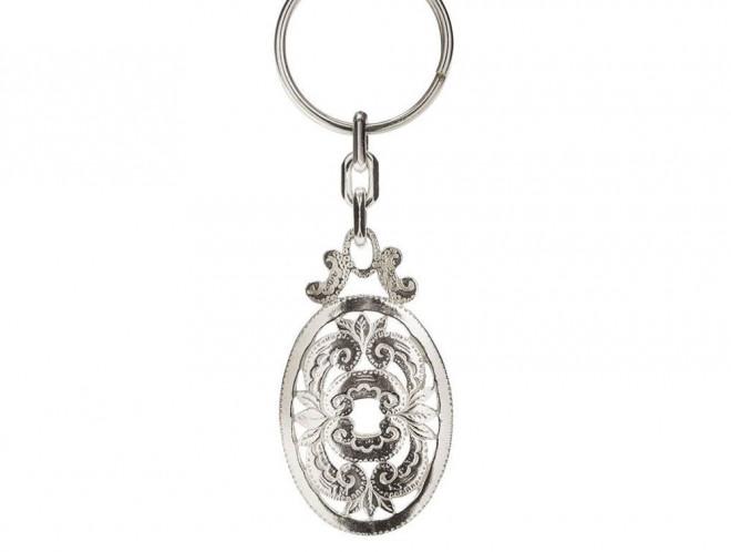 Key Ring 925 Silver